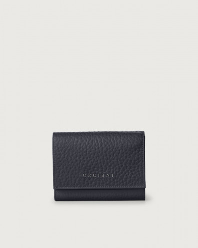 Soft small leather envelope wallet