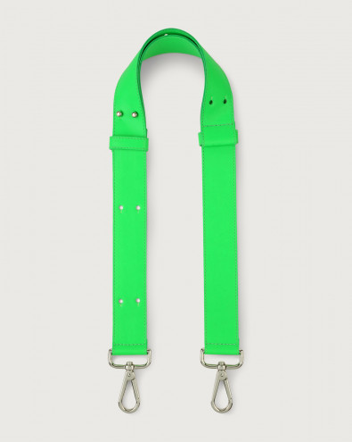 Fluo adjustable leather strap