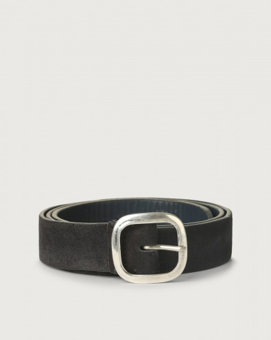 Hunting Double suede belt