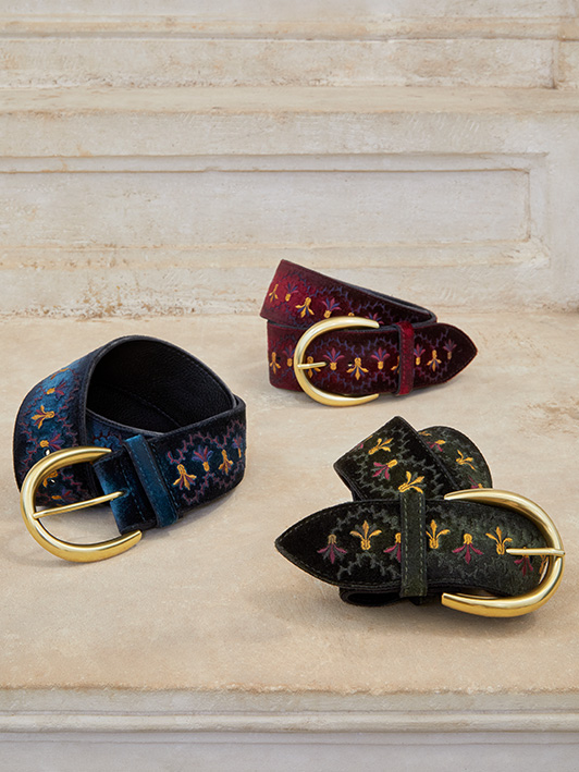 Orciani woman belts fall winter Collection 2021