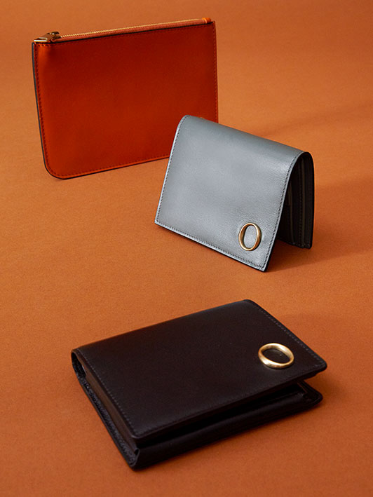 Orciani Small Leather Goods fall winter Collection 2021