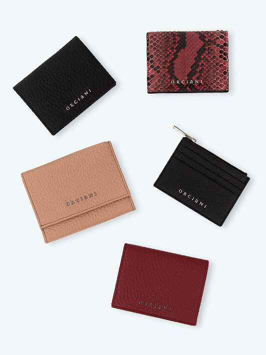 Orciani small leather goods fall winter 2019-2020