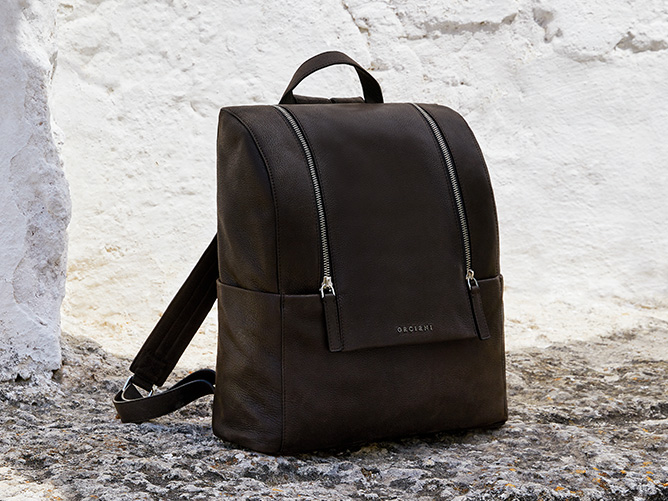 Orciani Man bags fall winter Collection 2021