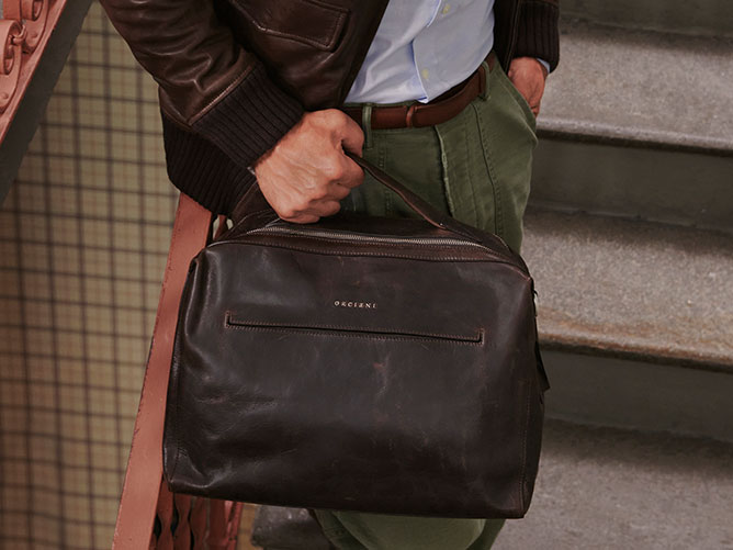 Orciani Man bags Fall Winter Collection 2020-2021