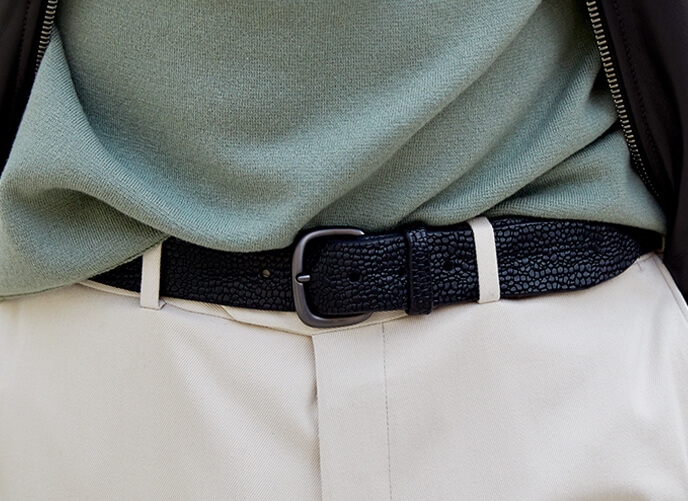 Orciani Man belts fall winter 2019-2020