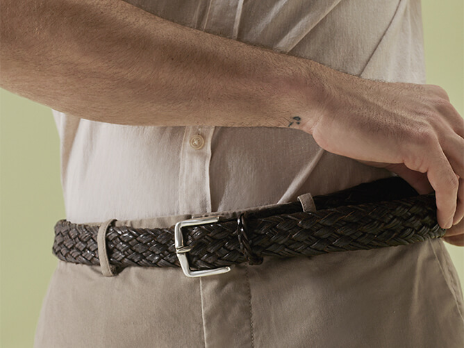 Orciani Man belts spring summer 2019