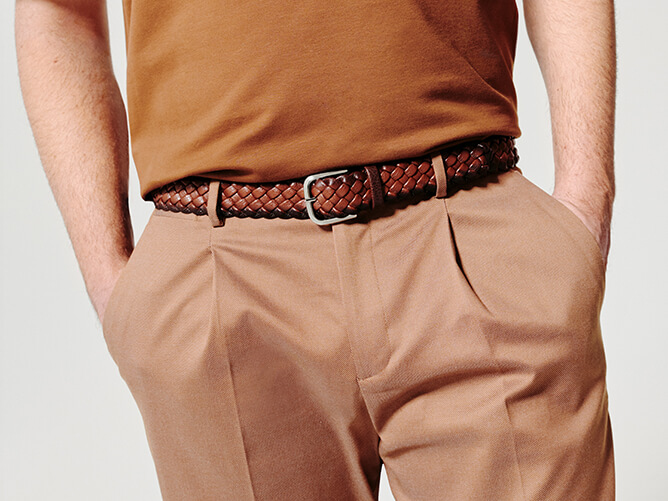 Orciani Man belts spring-summer 2020